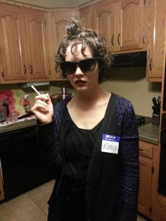 Halloween = Marla Singer from Fight club doing it.