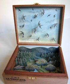 "David Gothard ~ ""Swifts...in a box"" Personal Works"