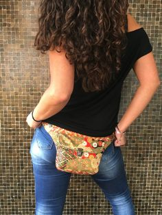 Mini Bolso de Cadera Riñonera Bandolera de diseño: por CAOMKA