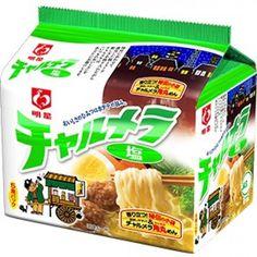 Myojo Charumera 5 pack 1 Bag Instant Noodle Ramen Solt Taste Japanese Nissin #Myojo