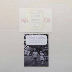 Louise Suite - Save the Dates
