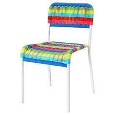 FÄRGGLAD  Children's chair, multicolor  $14.99  Article Number:   001.010.56  Stackable. Saves space when not in use.