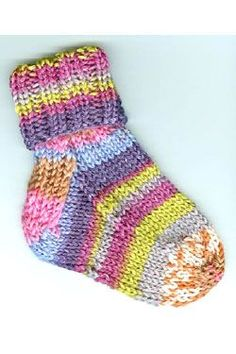 How to Knit Baby Socks: A Precious Pattern Knitted baby, Yarns and Patterns