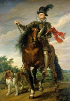 Equestrian portrait of King Sigismund III Vasa by workshop of Peter Paul Rubens, ca. 1624 (PD-art/old), Nationalmuseum in Stockholm