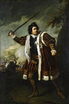From the Untold Lives blog post 'A truly original Richard III'. I like this image of Richard