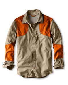 Men's Okanogan Hunting Shirt - Blaze | Eddie Bauer