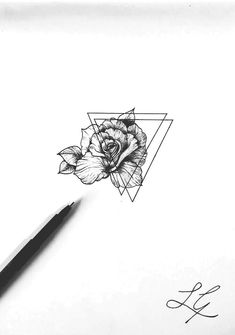 Rose Heart Tattoo, Rose Tattoos, Body Art Tattoos, Tatoos, Rose Drawing Tattoo, Tattoo Sketches, Tattoo Drawings, Doodle Tattoo, Arm Tattoo