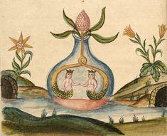 Zoroaster, Clavis Artis, MS. Verginelli-Rota, Roma, 1738. / Alchemy / Embodied <3