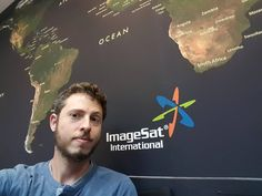 Visiting ISI. Satellite images. #satellite #images #israel #hightech #technology by yoavkar