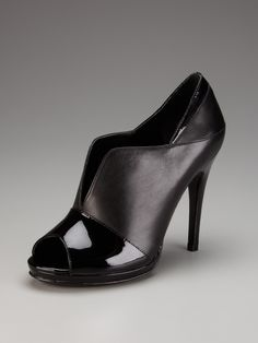 Shine Peep-Toe Bootie by DVF Shoes ($295)