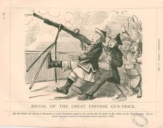 Recoil of the great Chinese gun-trick. (1857)