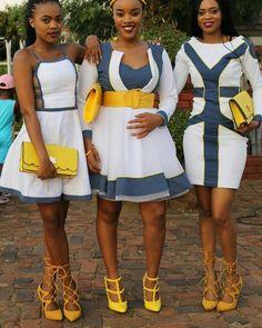 Bridesmaids - #traditionalafricanfashion