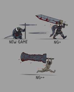 Progression in Dark Souls 3 Be Like< Pshh, I will stick with my Katanas in every souls game