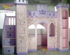 Camas infantiles de princesas