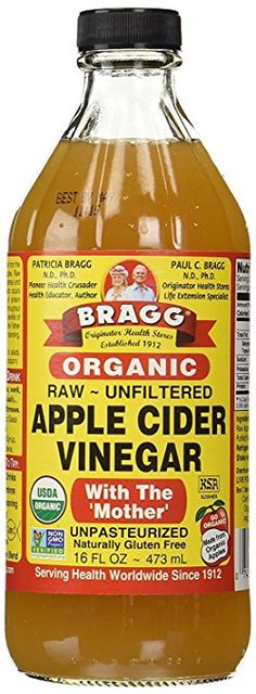 Bragg Organic Apple Cider Vinegar is made from delicious, healthy, organically grown apples. It is full of zesty Apple Cider Vinegarnatural goodness. Now you can enjoy Bragg Organic Apple Cider Vinegar in a convenient refreshing drink. Cider Vinegar Benefits, Apple Cider Vinegar Remedies, Unfiltered Apple Cider Vinegar, Organic Apple Cider Vinegar, Braggs Vinegar Diet, Raw Vinegar, Heinz Vinegar, Apple Vinegar, White Vinegar