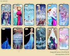 Disney frozen Phone Cases, iPhone 5 Case, iPhone 5S/5C Case, iPhone 4/4S Case, Samsung Galaxy S3 S4 S5 Note 2 Note 3-400490