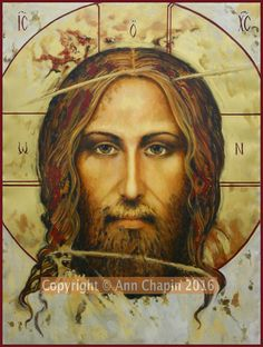 Face of Jesus Jesus Pictures, Pictures To Draw, Catholic Art, Religious Art, Croix Christ, Veil Of Veronica, Christian Artwork, Christian Pics, Jesus Face