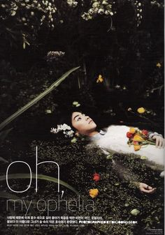 """Oh, My Ophelia,"" Vogue Girl Korea, April 2007"