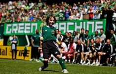 Atticus Lane-Dupres Make-A-Wish dream was made a reality when his 8-year-old Green Machine took on and defeated the Portland Timbers of the MLS.