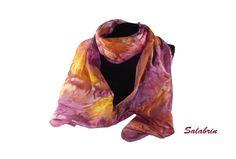 Seidenschals - Seidenschal - ein Designerstück von Salabrin bei DaWanda