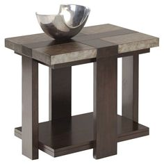 Progressive Furniture Concourse End Table | from hayneedle.com