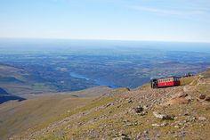 Train à vapeur du Snowdon, Snowdonia, pays de Galles