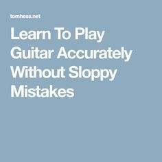 Learn To Play Guitar Accurately Without Sloppy Mistakes Slide Guitar, Jazz Guitar, Guitar Songs, Guitar Chords, Cool Guitar, Music Sing, Music Lyrics, Singing Exercises, Guitar Riffs