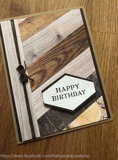 Mail :: Inbox: 🎂 14 Masculine birthday cards Pins to check out – Birthday 2020 Bday Cards, Birthday Cards For Men, Handmade Birthday Cards, Male Birthday, Masculine Birthday Cards, Masculine Cards, Making Greeting Cards, Greeting Cards Handmade, Fathers Day Cards