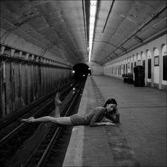 Les Ballerines de New York par Dane Shitagi, photographe américain née à Honolulu