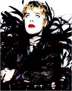 eddie izzard. the only person to ever pull off 'rock star transvestite'