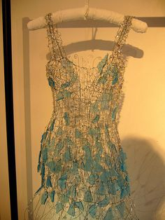 sea glass dress.. This would be cute in a small version