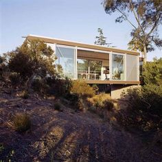 Artist's Studio, San Diego California - Safdie Rabines Architects