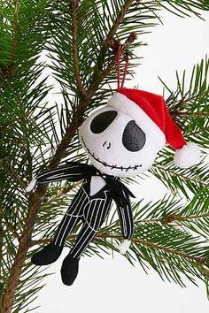 Nightmare Before Christmas Plush Ornament