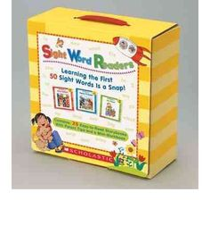 Sight Word Readers Boxed Set: Learning the First 50 Sight Words Is a Snap! [With Mini-Workbook] just bought this Sight Word Activities, Kindergarten Activities, Activities For Kids, Preschool Curriculum, Sight Word Readers, Sight Words, Teachers Aide, Writing Practice, Fluency Practice