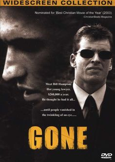 Checkout the movie 'Gone' on Christian Film Database: http://www.christianfilmdatabase.com/review/gone/