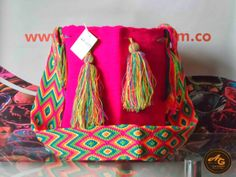 arte guajiro_3 Projects To Try, Weaving, Pottery, Bags, Inspiration, Tricot, Colombia, Handbags, Art