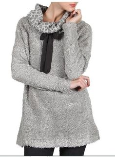 Leopard Cowl Sweater   https://www.facebook.com/431114316922827/photos/a.855743194459935.1073741855.431114316922827/867771419923779/?type=3&theater