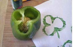 #DIY - Vegetable #stamp