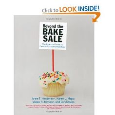 Great book for creating School-Family Partnerships! I first used this book during my master's program and it is a great resource. Beyond the Bake Sale: The Essential Guide to Family/school Partnerships: Anne T. Henderson: 9781565848887: Amazon.com: Books