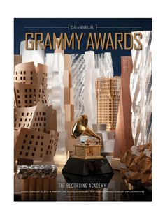 54th Grammy Poster