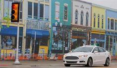 Voiture autonome : Ford teste sa Mondeo Hybrid