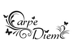 Carpe Diem Picture Art – Living Room – Home Decor Sticker - Vinyl Wall Decal - : for sale online Ankle Foot Tattoo, Ankle Tattoos, Body Art Tattoos, Tatoos, Tattoo Carpe Diem, Soft Tattoo, Taboo Tattoo, Wood Burning Patterns, Large Tattoos