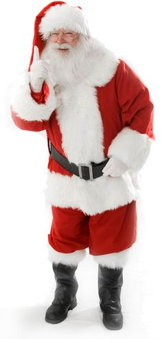 Santa Claus says you better be good!