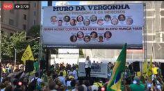 Protesto #VemPraRuaBrasil AO VIVO
