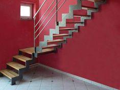 UP and DOWN : escalier à limons métalliques