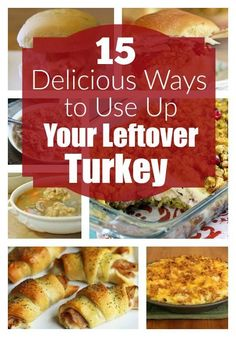 Got leftovers? Here are some great ways to put that leftover turkey to great use! 1. All the Fixins' Mini Turkey Sliders | Source: Savvy Saving Couple 2. Turkey (or Chicken) Taquitos | Source: Thri…