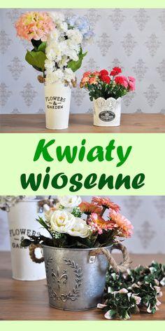 Wiosna już niebawem, a my już teraz proponujemy Państwu nowe wzory kwiatów.  Zapraszamy do odwiedzenia naszej strony aby zapoznać się ze szczegółami. Planter Pots, Table Decorations, Flowers, Home Decor, Decoration Home, Room Decor, Royal Icing Flowers, Home Interior Design, Flower