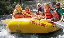 Nantahala Outdoor Center, white water rafting on the Nantahala River, Bryson City NC