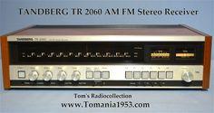 Tandberg TR 2060 AM FM Receiver