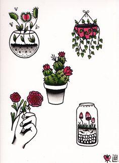 flash art tattoo | Tumblr